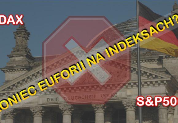Koniec euforii na głównych indeksach? Sytuacja na S&P500 i DAX
